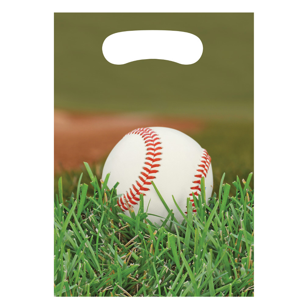 Baseball Treat Bags (8 Count) - Party Supplies BB087963