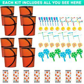 Basketball Favor Kit (Serves 8)