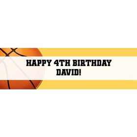 Basketball Party Personalized Banner (each)