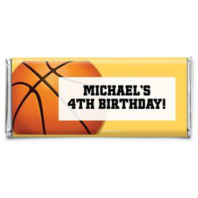 Basketball Party Personalized Candy Bar Wrapper (Each)