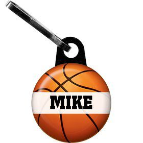 Basketball Party Personalized Zipper Pull (each)