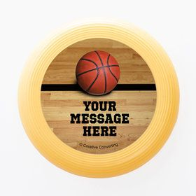 Basketball Personalized Mini Discs (Set of 12)