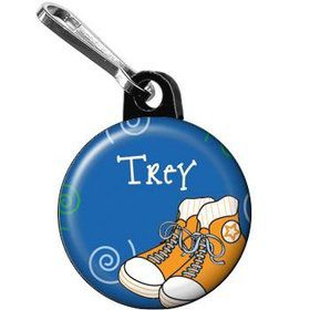 Basketball Star Personalized Mini Zipper Pull (each)