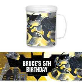 Bat Blocks Personalized Favor Mug (Each)