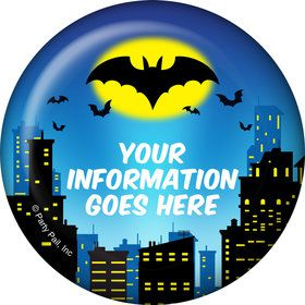 Bat Personalized Button (Each)