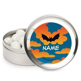 Bat Personalized Candy Tins (12 Pack)