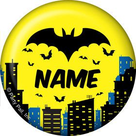 Bat Personalized Mini Button (Each)