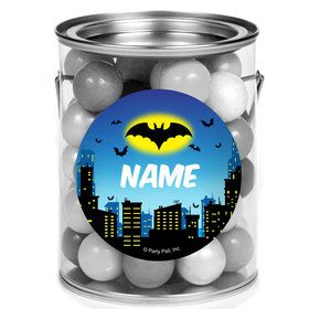 Bat Personalized Mini Paint Cans (12 Count)