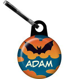 Bat Personalized Mini Zipper Pull (each)