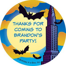 Bat Personalized Stickers (sheet of 12)