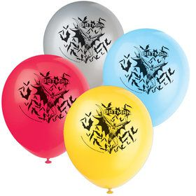 "Batman 12"" Latex Balloons (8 Count)"
