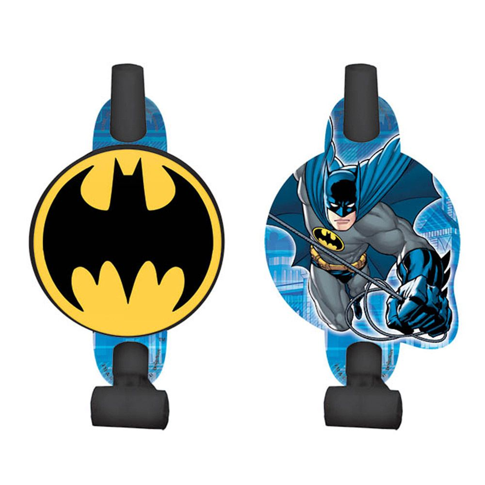 "Batman 5"" Blowouts (8 Pack) BB331386"
