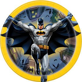 "Batman 7"" Cake Plate (8 Count)"
