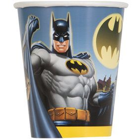 Batman 9oz Cups (8 Count)