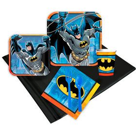 Batman Birthday Party Deluxe Tableware Kit Serves 8