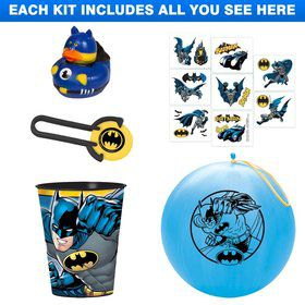 Batman Favor Kit (for 1 Guest)