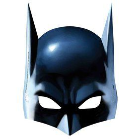 Batman Masks (8 Count)