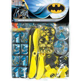 Batman Mega Mix Favor Pack (For 8 Guests)