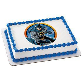 Batman Quarter Sheet Edible Cake Topper (Each)