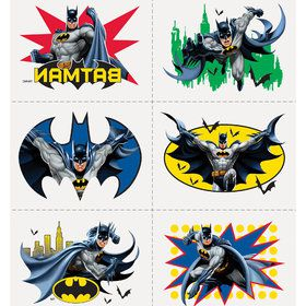 Batman Tattoos (4 Sheets)