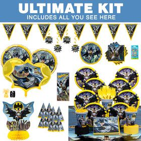 Batman Ultimate Tableware Kit (Serves 8)