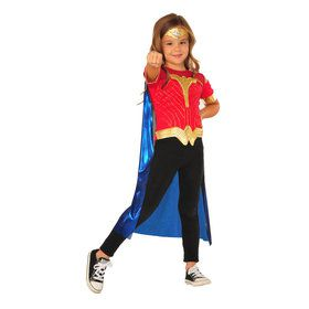 Batman V Superman: Dawn Of Justice Wonder Woman Top Set Kids Costume