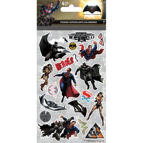Batman Vs. Superman Stickers (4 Sheets)