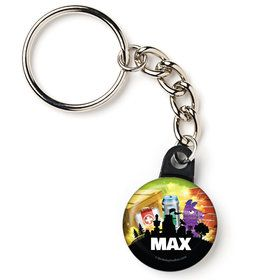"Battle Game Personalized 1"" Mini Key Chain (Each)"