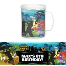 Battle Game Personalized Favor Mug (Each)