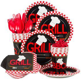 BBQ Standard Tableware Kit Serves 8