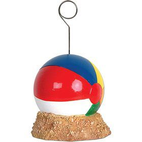 Beach Ball Photo/Balloon Holder (Each)