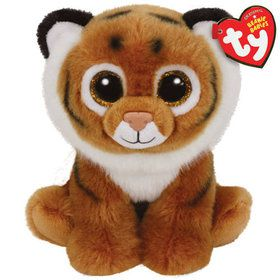 Beanie Classic Ty Tiggs Brown Tiger Plush (Medium)