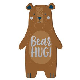 Bear-ly Wait Mini Standing Sign (9)