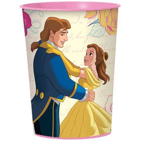 Beauty and the Beast 16oz Plastic Favor Cup (Each)