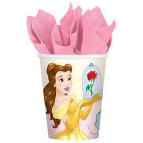Beauty and the Beast 9oz Paper Cups (8 Count)