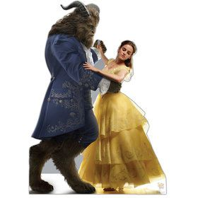 Beauty and the Beast Belle and the Beast Cardboard Standup