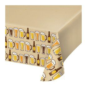 Beer Plastic Table Cover