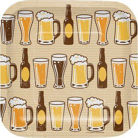 Beer Square Plates (8)