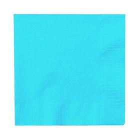 Bright Blue Beverage Napkins (50)