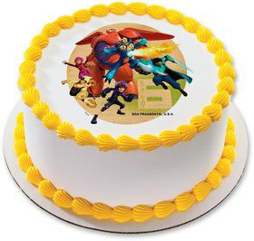 "Big Hero 6 7.5"" Round Edible Cake Topper (Each)"