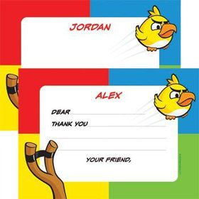 Birds Personalized Thank You Note (each)