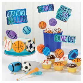 Birthday Baller Dessert Topper Kit