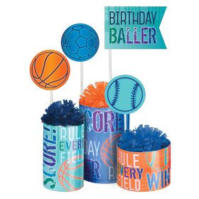 Birthday Baller Table Decoration Kit