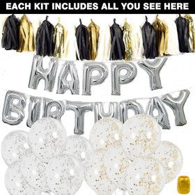 Birthday Balloon Decoration Kit