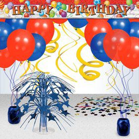 Birthday Balloons Decoration Kit