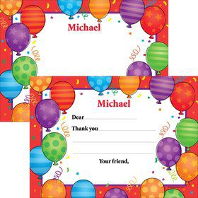 Birthday Balloons Thank You (Each)