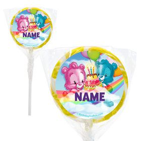 "Birthday Bears Personalized 2"" Lollipops (20 Pack)"