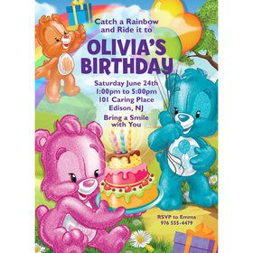 Birthday Bears Personalized Invitation (Each)