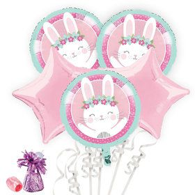 Birthday Bunny Balloon Bouquet Kit