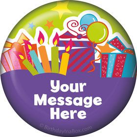 Birthday Burst Personalized Magnet (Each)